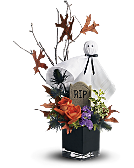 telefloras ghostly gardens bouquet