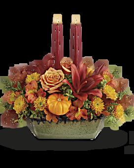 thanksgiving flower centerpieces teleflora