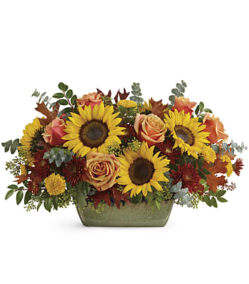 Sunflower Farm Centerpiece Flowers