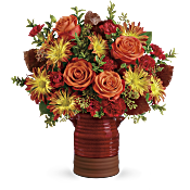 Teleflora's Heirloom Crock Bouquet Flowers
