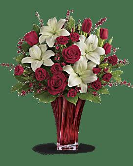 Love's Passion Bouquet by Teleflora Bouquet