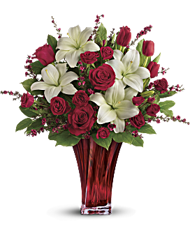 La passion bouquet de l'amour par Teleflora bouquet