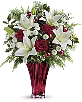 Flower arrangements for special occasions teleflora telefloras wondrous winter bouquet bouquet mightylinksfo