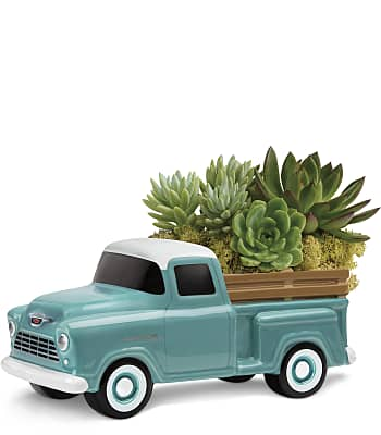 Perfect Chevy Pickup by Teleflora Plants
