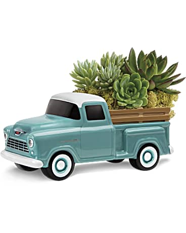 Send Dad a Perfect Chevy Pickup by Teleflora