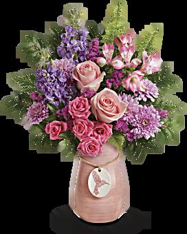 Bouquet Beauté ailée de Teleflora