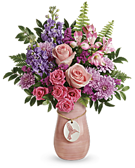 Teleflora's Winged Beauty Bouquet Bouquet
