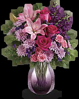 Bouquet Tous les yeux sont sur vous de Teleflora