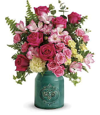 Teleflora's Country Beauty Bouquet Flowers