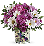 Teleflora's Wildflower In Flight Bouquet Flowers