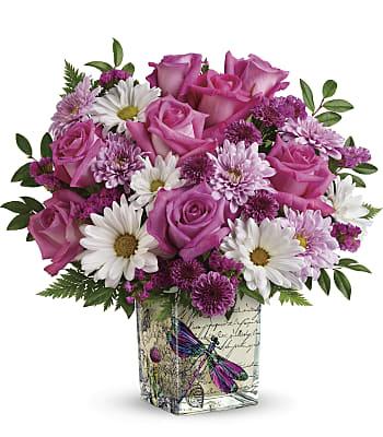 Teleflora's Wildflower In Flight Bouquet Flowers