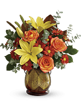 Teleflora's Citrus Harvest Bouquet