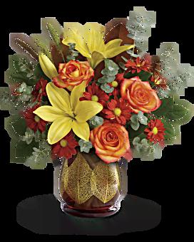 Teleflora's Citrus Harvest Bouquet Bouquet