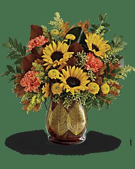 Bouquet Feuilles changeantes de Teleflora