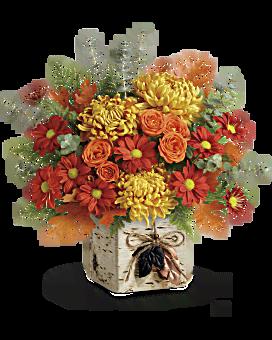 Teleflora's Wild Autumn Bouquet Bouquet