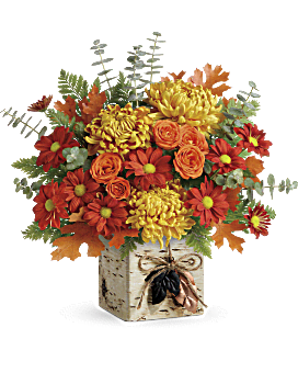 Quick View Teleflora S Wild Autumn Bouquet
