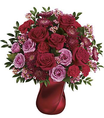Teleflora's Mad Crush Bouquet Flowers