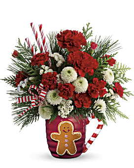 Send A Hug® Winter Sips Bouquet by Teleflora