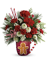 Send a Hug� Winter Sips Bouquet by Teleflora