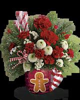 Send a Hug� Winter Sips Bouquet by Teleflora