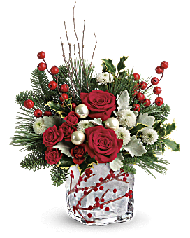 Teleflora's Winterberry Kisses Bouquet Bouquet