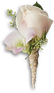 Dashing Boutonniere Flowers