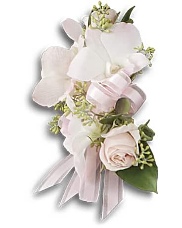 Beautiful blush corsage teleflora beautiful blush corsage corsage mightylinksfo