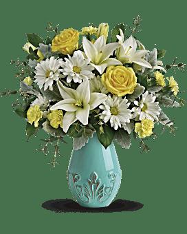 Rêve bouquet d'Aqua de de Teleflora