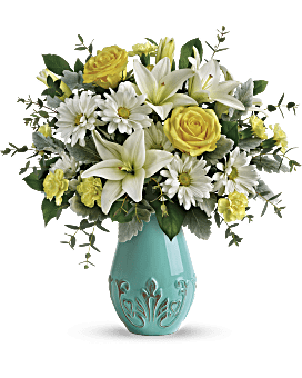 Teleflora's Aqua Dream Bouquet Bouquet