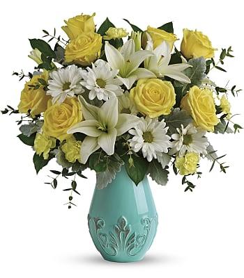 Aqua Dream Bouquet Flowers
