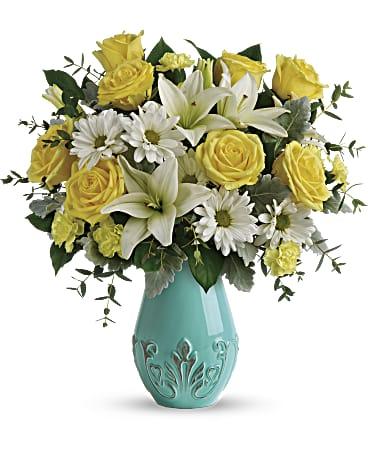 Living Vases Florist Bouquet Box Flower Plant Aqua Sweet Gift Boxes Orange