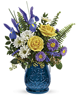 Quick View Telefloras Sapphire Garden Bouquet