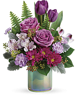 Teleflora's Art Glass Garden Bouquet Bouquet