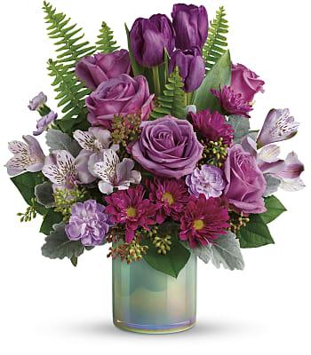 Art Glass Garden Bouquet Flowers