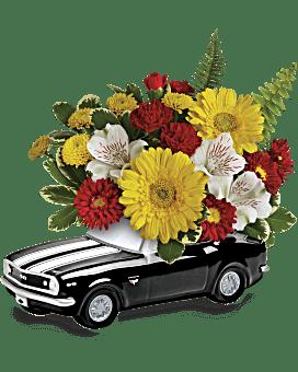 Teleflora's '67 Chevy Camaro Bouquet Bouquet