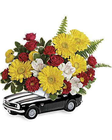 Teleflora's 67' Chevy Camaro bouquet