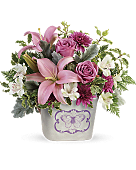 Teleflora's Monarch Garden Bouquet Bouquet