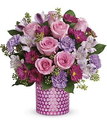 Bubbling Over Bouquet Flowers