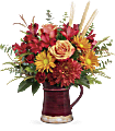 Teleflora's Fields Of Fall Bouquet Flowers