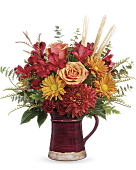 Teleflora's Fields Of Fall Bouquet Bouquet