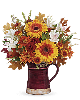 Teleflora's Blooming Fall Bouquet Bouquet