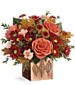 Teleflora's Copper Petals Bouquet Flowers
