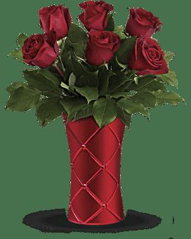 Teleflora's Crimson Luxury Bouquet Bouquet