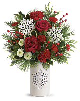 Teleflora's Flurry Of Elegance Bouquet