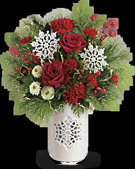 Teleflora's Flurry Of Elegance Bouquet Bouquet
