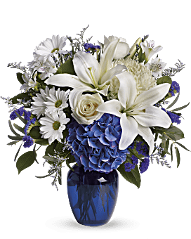 Quick View Beautiful In Blue Bouquet