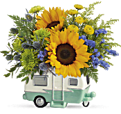 Teleflora's Retro Road Tripper Bouquet Flowers