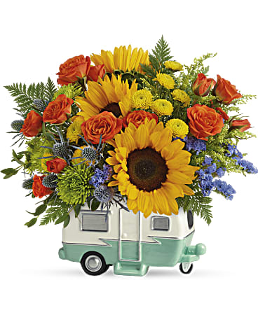 Send the Retro Road Tripper Bouquet to Dad