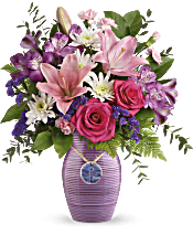Teleflora's My Darling Dragonfly Bouquet Flowers