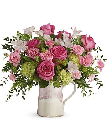 Teleflora's Heart Stone Bouquet Flowers